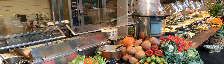 Konzepte für Gemeinschaftsverpflegung bei Kultur- und Freizeiteinrichtungen sowie für Hotellerie und Gastronomie, Großküchenplanung im Rhein Main Gebiet.